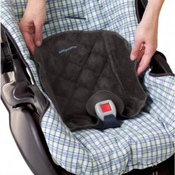 Kiddopotamus Piddle Pad Waterproof Seat Protector - Black