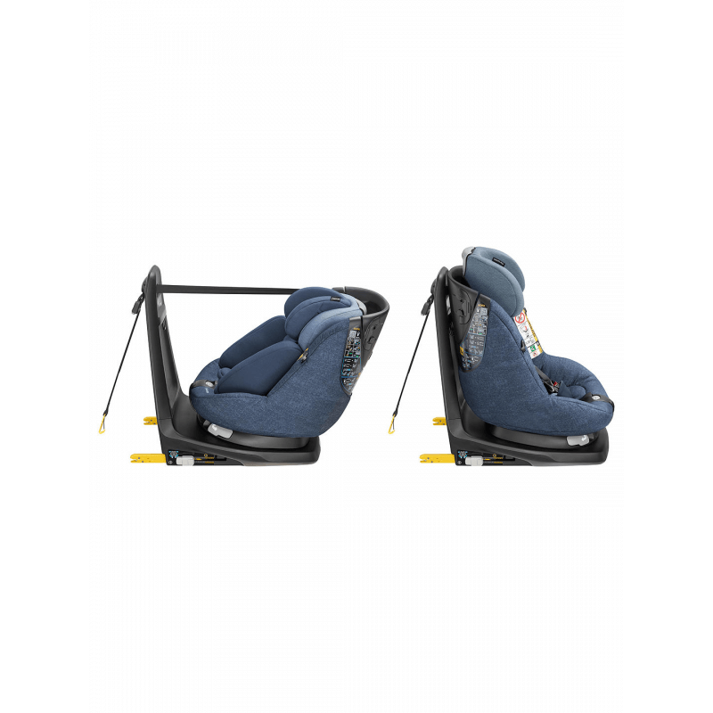 Maxi-Cosi AxissFix Plus i-Size Group 0+/1 Car Seat - Nomad Blue 9