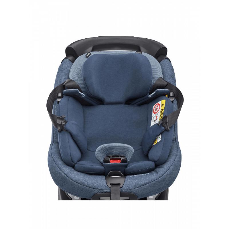 Maxi-Cosi AxissFix Plus i-Size Group 0+/1 Car Seat - Nomad Blue 7