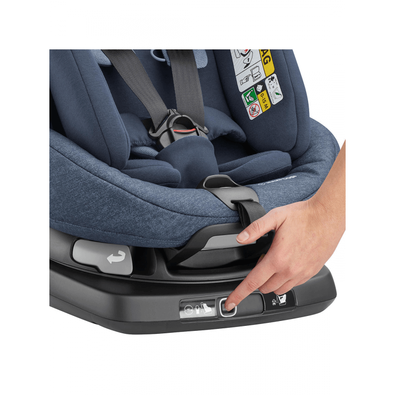 Maxi-Cosi AxissFix Plus i-Size Group 0+/1 Car Seat - Nomad Blue 6