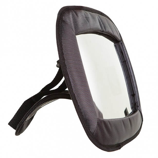Dreambaby Large Rectangular Adjustable Backseat Mirror