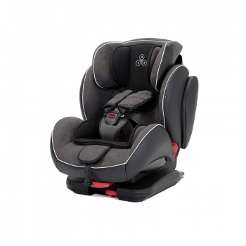 Ickle Bubba Solar ISOFIX Group 1/2/3 Car Seat - Dark Grey 4