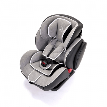 Ickle Bubba Solar ISOFIX Group 1/2/3 Car Seat - Light Grey 8