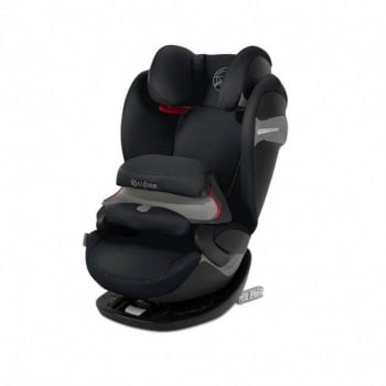 Cybex Pallas S-Fix Group 1/2/3 Car Seat - Urban Black
