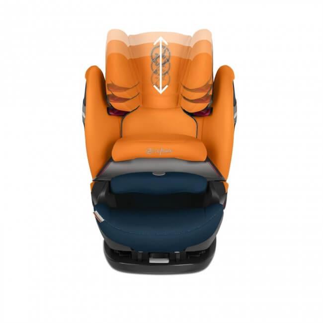 Cybex Pallas S-Fix Group 1/2/3 Car Seat | Urban Black