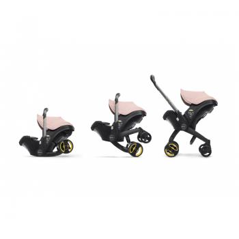 Doona Car Seat Stroller Group 0+ - Blush Pink 2