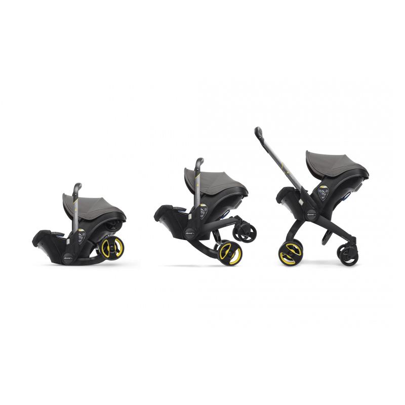 Doona Car Seat Stroller Group 0+ - Urban Grey 10
