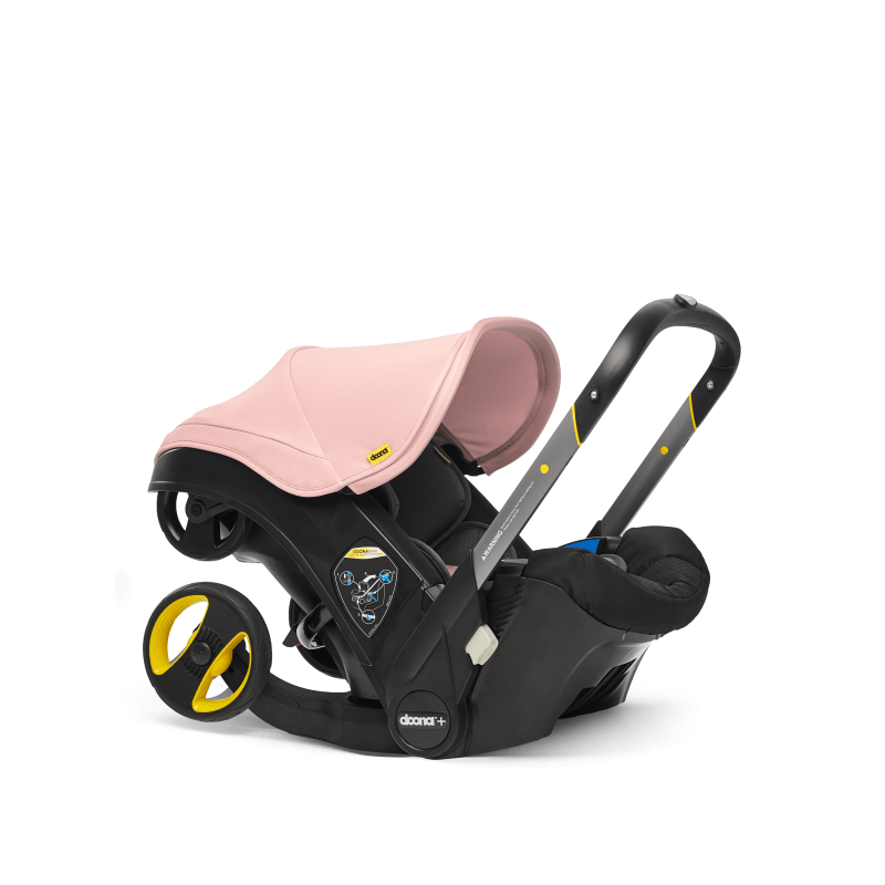 Doona Car Seat Stroller Group 0+ - Blush Pink 9