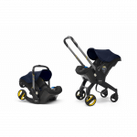 Doona Car Seat Pram 0+ Car Seat Mode or Converts to Stroller - Royal Blue