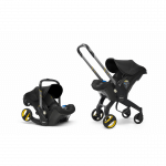 Doona Car Seat Pram 0+ Car Seat Mode or Converts to Stroller – Nitro Black