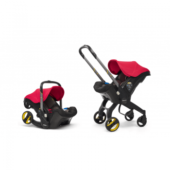 Doona Car Seat Stroller Group 0+ - Flame Red 10
