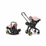 Doona Car Seat Pram 0+ Car Seat Mode or Converts to Stroller - Blush Pink