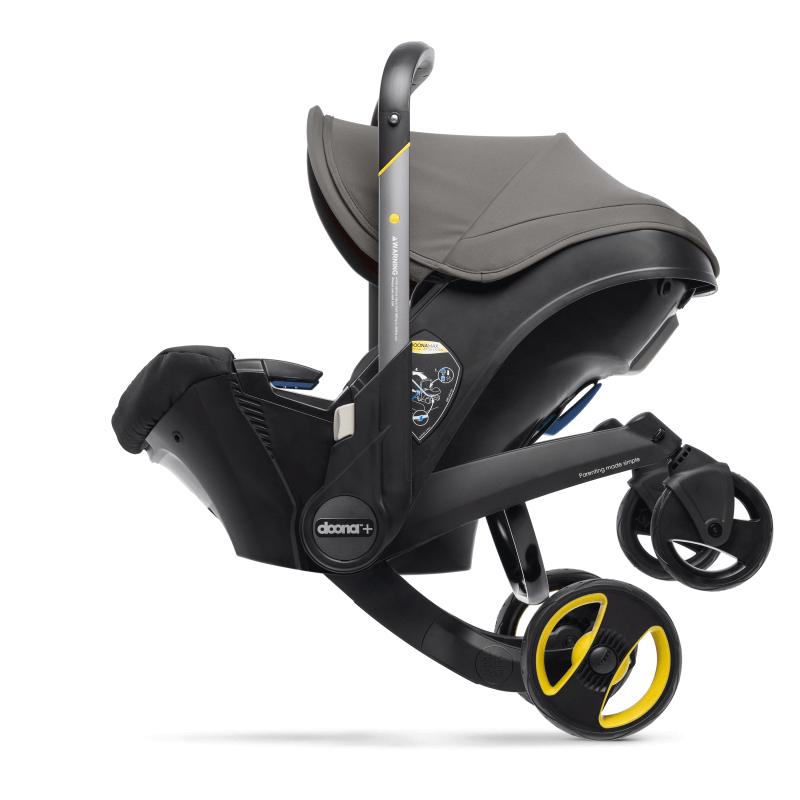 Doona Car Seat Stroller Group 0+ - Urban Grey 4