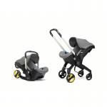Doona Car Seat Pram 0+ Car Seat Mode or Converts to Stroller - Urban Grey