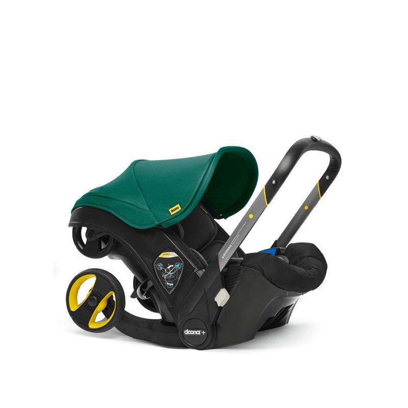 Doona Car Seat Stroller Group 0+ - Racing Green 8