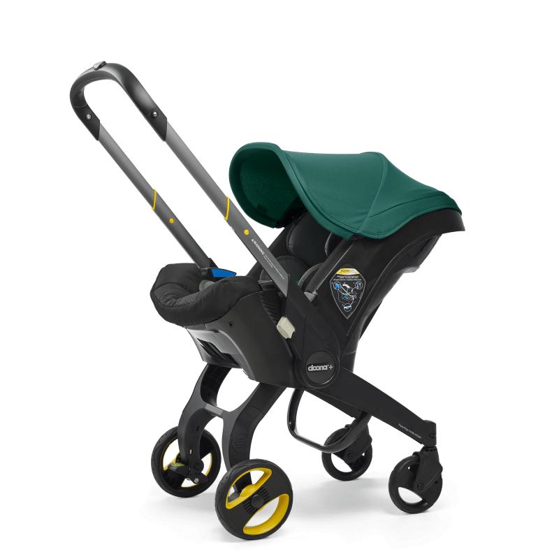 Doona Car Seat Stroller Group 0+ - Racing Green 6