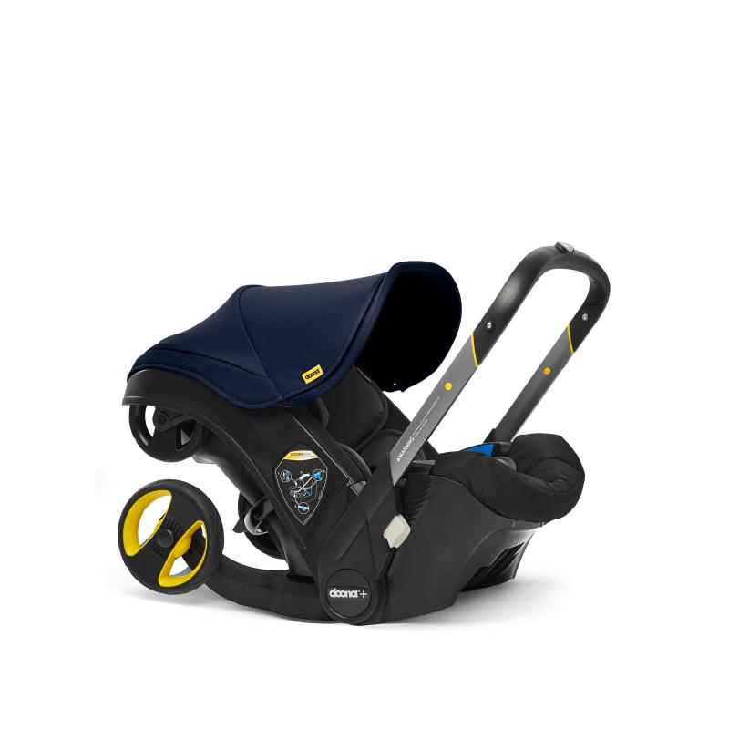 Doona Car Seat Stroller Group 0+ - Royal Blue 8