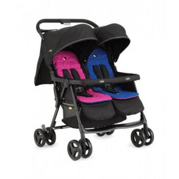 Joie Aire Twin Stroller - PinkBlue