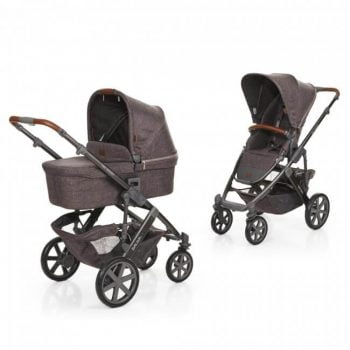 ABC Design Salsa 2 in 1 Pushchair and Carrycot - Walnut