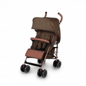 Ickle Bubba Discovery Stroller - Khaki/Rose Gold