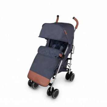 Ickle Bubba Discovery Max Stroller - Denim Blue/Silver