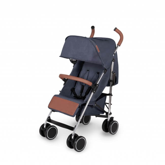 Ickle Bubba Discovery Max Stroller - Denim Blue/Silver 2