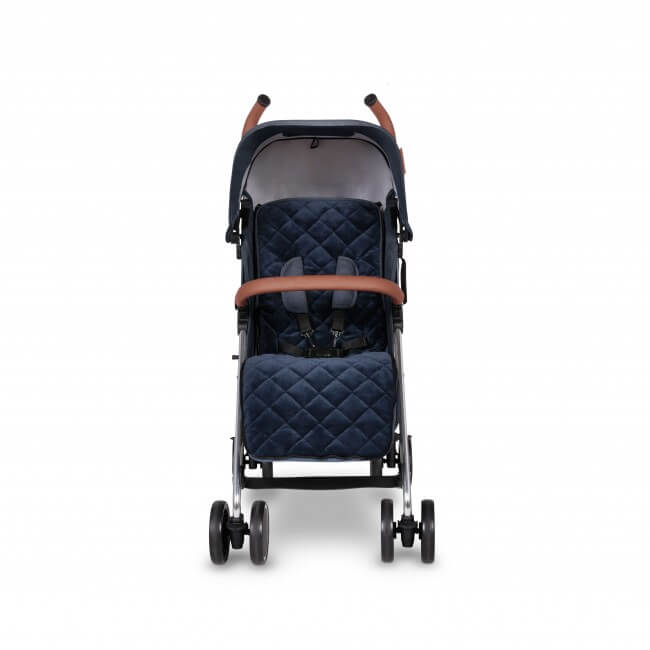 Ickle Bubba Discovery Max Stroller - Denim Blue/Silver 3