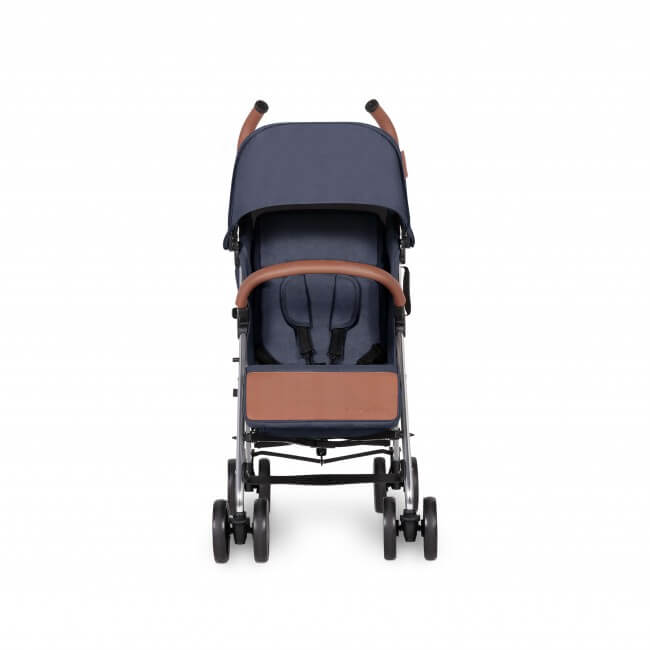 Ickle Bubba Discovery Max Stroller - Denim Blue/Silver 4