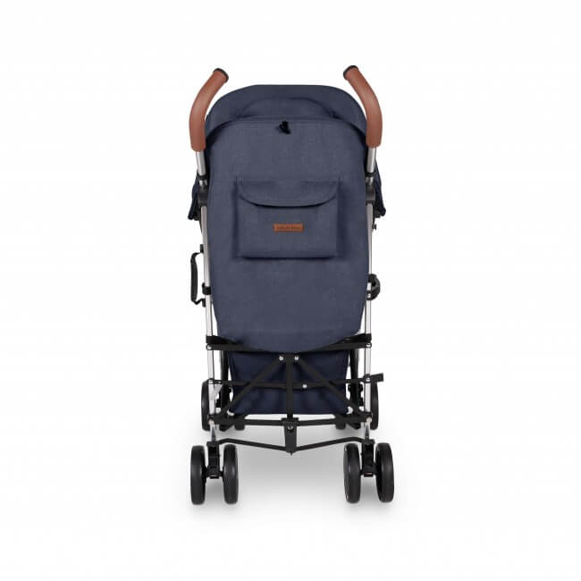 Ickle Bubba Discovery Max Stroller - Denim Blue/Silver 6