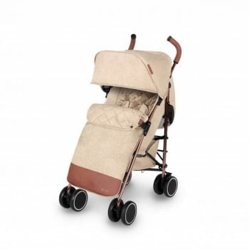 Ickle Bubba Discovery Max Stroller - Sand/Rose Gold