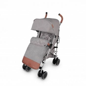 Ickle Bubba Discovery Prime Stroller - Grey/Silver