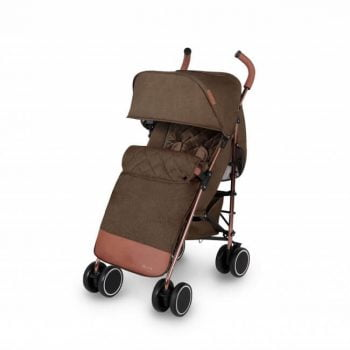 Ickle Bubba Discovery Prime Stroller - Khaki/Rose Gold