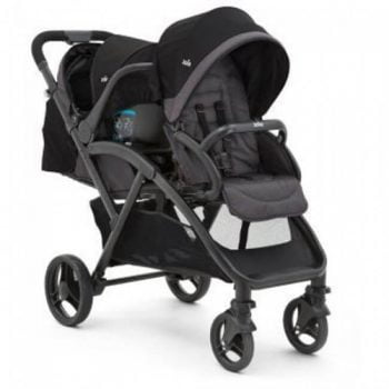 Joie Evalite Duo Tandem Pushchair - Two Tone Black