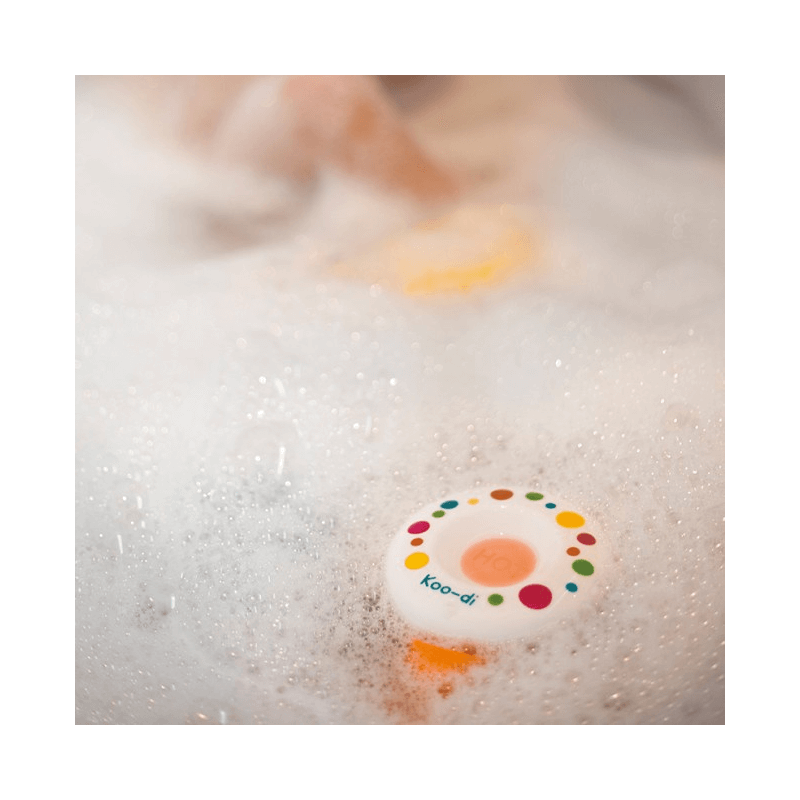 Koo-Di Bath Thermometer - Polka 3