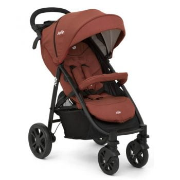 Joie Litetrax 4 Stroller (Inc. Footmuff) - Brick Red