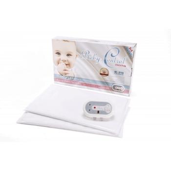 BabyControl Digital Baby Breathing Monitor BC-220i Twin Edition & 2 Sensor Pads
