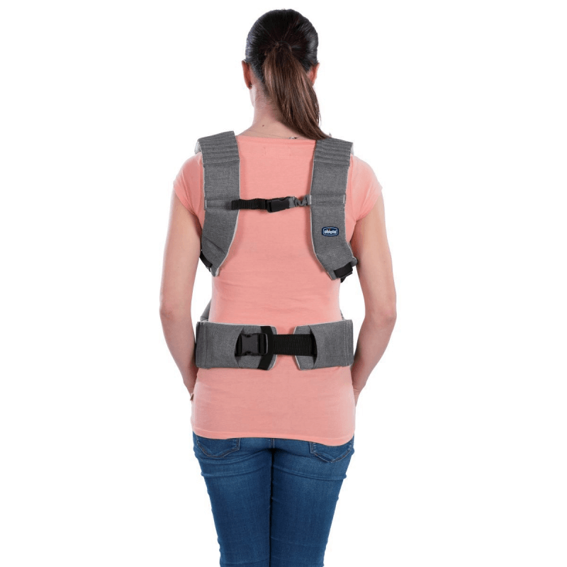 Chicco Myamaki Baby Carrier Grey Stripes Olivers Babycare