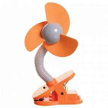 Dreambaby Portable Stroller Fan – Orange