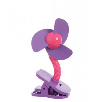 Dreambaby Portable Stroller Fan – Pink & Purple
