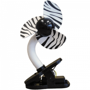 Dreambaby Portable Stroller Fan – Zebra
