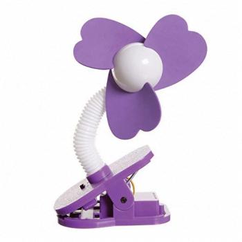 Dreambaby Portable Stroller Fan in Purple
