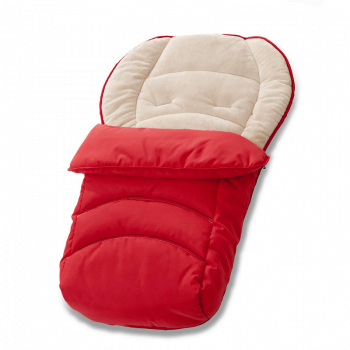 Hauck Cosytoe - 2 Way Footmuff - Red