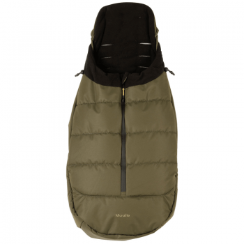 Khaki-micralite-baby-footmuff-Fastfold-easyfold-childr-seat 1