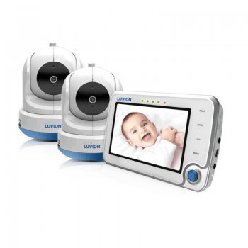 Luvion Supreme Wi-Fi Connect Twin Camera Video Baby Monitor