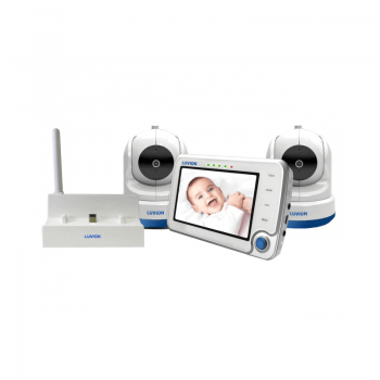 Luvion Supreme Wi-Fi Connect Twin Camera Video Baby Monitor & Wi-Fi Bridge