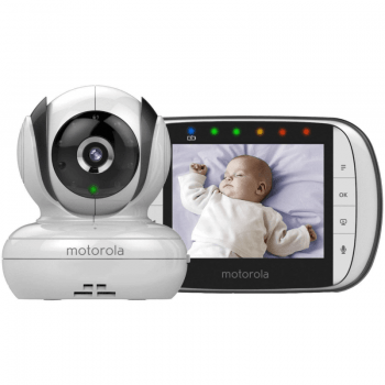 Motorola MBP36S Video Baby Monitor 3.5-inch