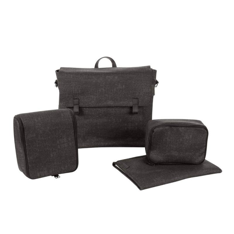 Nomad-black-modern-changing-bag-