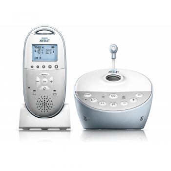 Philips Avent SCD58001 DECT Baby Monitor with Light Projector