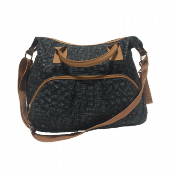 summer_infant-charcoal-tan-brown-changing-bag-for-babys-shoulder-bag 1