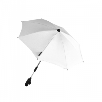white-venicci-parasol-gousto-cream-pushchair-stroller-umbella 1